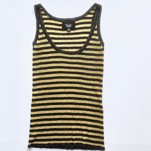 D&G shimmer Tank Sweater